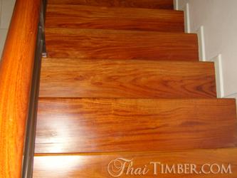 ไม้แปรรูป Timber ไม้ขั้นบันได Stair